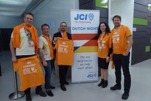 JCI Deutschland bei der Dutch Night