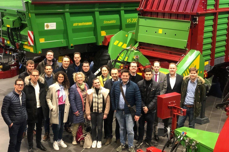 Betriebsbesichtigung Strautmann & Söhne GmbH & Co. KG