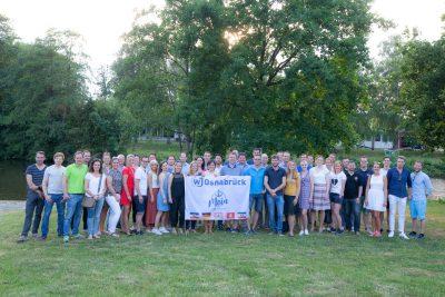 WJ-Sommerfest mit Quartalsversammlung